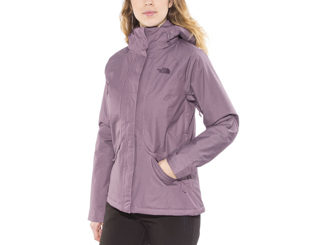 7cb78f279 The North Face Inlux Insulated Jacket Women black plum heather